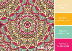 101 Color Combinations to Inspire Your Next Design – Mandala Color Palette