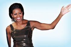 Hello Mrs. President. My my my what nice arms you have!
