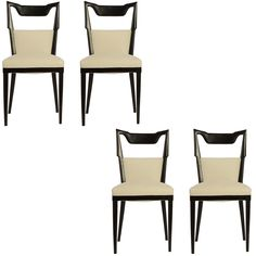 1stdibs | Set Of Four Paolo Buffa Dining Chairs, 1950