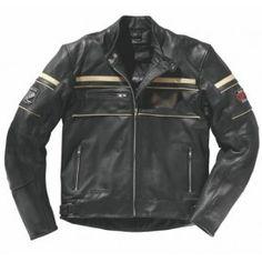 Blouson cuir moto Difi Kansas 2