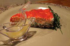 Salmon-cheesecake