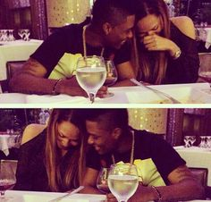 Couple Love - WizKid and Tania Omotayo