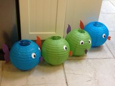 Making fish out of lampshades