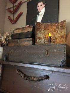 Prim fireplace