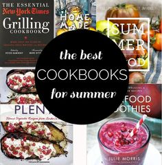 Best Summer Cookbooks To Get Inspired | http://www.cravebakejoy.com