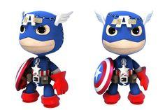 Captain America Sackboy