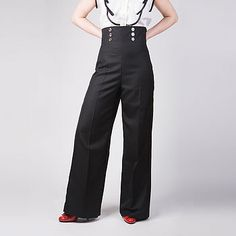 high waisted trousers by totty rocks edinburgh | notonthehighstreet.com
