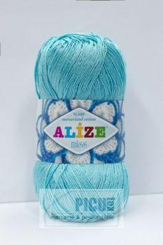 Poze Fir de tricotat sau crosetat - Fir BUMBAC 100% ALIZE MISS BLEO 263 Bbc, Fire, Knitting, Coil Out, Tricot, Breien, Knitting And Crocheting, Crochet, Cable Knitting
