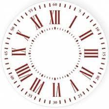 Картинки по запросу рисунок цифры один Paper Clock, Clock Art, Diy Clock, Stencils, Stencil Templates, Stencil Patterns, Clock Painting, Silk Painting, Clock Face Printable
