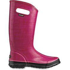 Brighten up rainy days in the Bogs Linen Print women's rain boots. Mid-calf coverage and wateproof materials ensure that you can cruise through puddles without worrying about wet feet. Mud Boots, Boots For Sale, Luxury Shoes, Rubber Rain Boots, Yard, Black, Style, Jewelry, Fashion