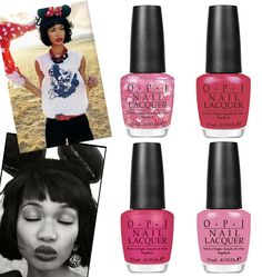 OPI Minnie Mouse collection, Chanel Iman Vogue Germany, nail polish