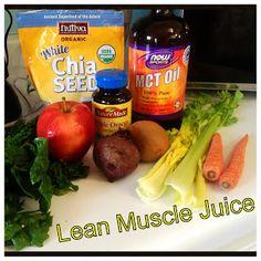 Juicer recipe: Lean Muscle Juice
