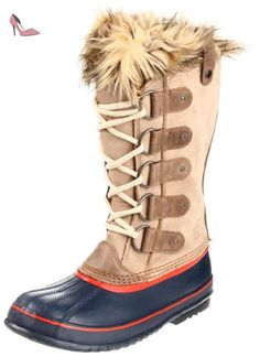 Sorel - Joan Of Arctic - Oxford Tan / Grenadine - Femme, Oxford Tan / Grenadine, 39 1/3 EU - Chaussures sorel (*Partner-Link)