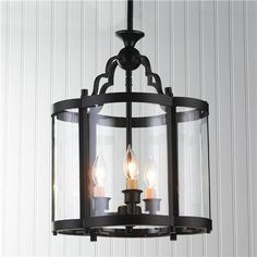 "Oval Quatrefoil Lantern - Small - $329. - says 17.5h x 13w x 9.5d  and full hand length is 31.5"" (that would be too long)- front or back hallway"