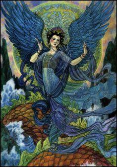The Angel Angle - Rebecca Guay