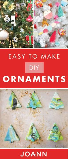 We love adding a personalized touch to pretty much everything holiday related—and these Easy to Make DIY Ornaments from JOANN are no exception. See how you can make your Christmas decorations your own this year with the help of a few creative crafts!