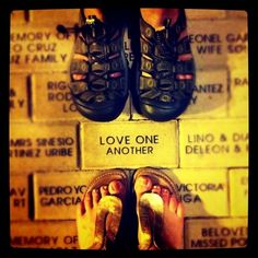 Love One Another -- it is as simple and as challenging as that.