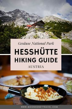 Hesshütte (also spelled Heßhütte) is a mountain refuge in Gesäuse National Park, located in Styria, Austria. This mountain refuge is the starting point to Zinödl and Planspitze. #hiking #austria #austrianalps #xeis #styria #steiermark #alps #visitaustria #mountainhut #rifugio #hütte Visit Austria, Austria Travel, Hiking Guide, Cool Countries, Best Cities, European Travel, Alps, Camper, Destinations