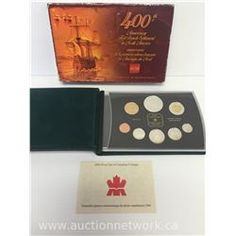 Up For Auction Sept 27th 2015 -  2004 - Proof Double Dollar Mint Set with Silver