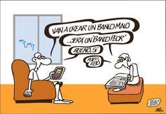 Viñeta: Forges - 9 AGO 2012 | Opinión | Banco peor