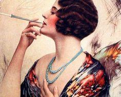 A história do tabaco e a publicidade impressa (100 fotos)