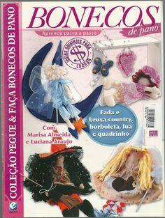 Revistas de Manualidades Para Descargar: Bonecas de pano Nº 0004