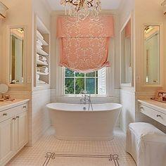 Romantic Small Master Bathroom Design
