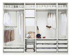 belle maison: Get Organized! The Dreaded Closet
