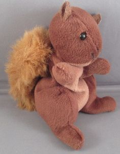 Vintage Retro 1996   #Zangeen Brown squirrel, where did you get that lovely bushy tail?