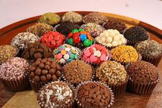 Blog da Vanessa: Brigadeiro Gourmet(change languages on side categories on left of the page