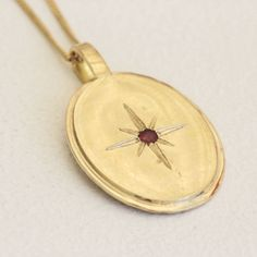 Valentines Day Gifts For Her, Art Deco Necklace, Valentines Jewelry, Gift Ideas For Wife, Gold Vinta Gold Ruby Necklace, Art Deco Necklace, Ruby Earrings, Stone Necklace, Pendant Necklace, Gold Initial Pendant, Gold Pendant, Valentines Day Gifts For Her, Valentines Jewelry
