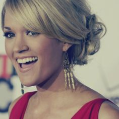 "Carrie Underwood- my favorite female singer! ""Blown Away"" is still my favorite of hers."
