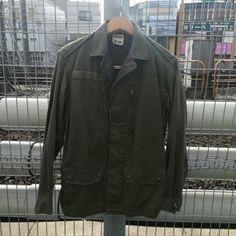 1985年フランス軍実物本物【F2】JACKET Military, Leather Jacket, France, Jackets, Fashion, Studded Leather Jacket, Down Jackets, Moda, Leather Jackets