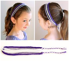 Make this cute and simple 3 strand crochet headband in under 15 minutes with this easy and free pattern. simpl beginn, beginn crochet, headbands crochet patterns, beginner crochet, strand, crochet free patterns, teaching kids, crochet hair, crochet headbands