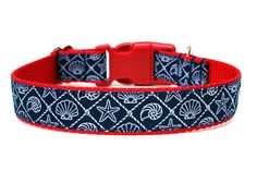 Hey, I found this really awesome Etsy listing at https://www.etsy.com/listing/155765825/nautical-dog-collar-1-beach-dog-collar