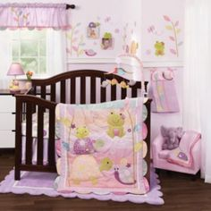 Crib bedding sets make the nursery perfect. Welcome the new arrival with crib bedding sets for girls and crib bedding sets for boys from buybuyBABY. Get sweet baby crib bedding sets - buy now Baby Crib Bedding Sets, Girls Bedding Sets, Baby Nursery Furniture, Nursery Room Decor, Baby Bedroom, Nursery Bedding, Nursery Themes, Baby Cribs, Nursery Ideas