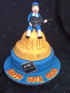 AC/DC  Cake by Amber Catering and Cakes