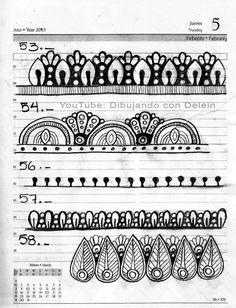 9 de 20 Me auto impuse un reto de 100 lineas para Mandala esta es la hoja 9 de 20, pertenece a la serie de videos de Mandalas que he compartido en mi canal donde les muestro el paso a paso para dibujar un Mandala Mandala Doodle, Easy Mandala Drawing, Mandala Art Lesson, Simple Mandala, Doodle Art, Mandala Pattern, Zentangle Patterns, Mandala Design, Gel Pen Art