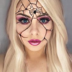 Scary Halloween Makeup Looks to Be the Queen of Horror ★ See more: https://makeupjournal.com/scary-halloween-makeup-horror-queen/ #makeup #makeuplover #makeupjunkie