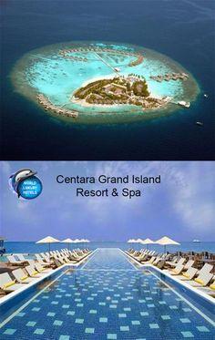 Centara Grand Island Resort & Spa                              #Hotel #Resort #Maldives