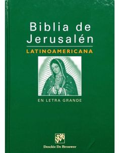 Adapted to a Latin American audience, the Jerusalem Bible is easy-to-use — and it's available for $17.99!