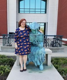 New history Librarian DeeDee, hanging out with Mitch.