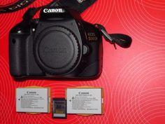 Canon Eos 550d Corpo Body + 2 Batterie Canon + SD 16gb BORSA IN REGALO