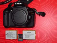 Canon Eos 550d Corpo Body + 2 Batterie Canon + SD 16gb BORSA IN REGALO