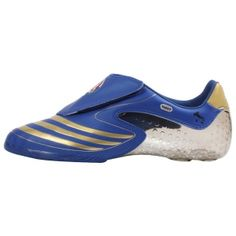 SALE - Adidas F50.8 Soccer Cleats Mens Blue Leather - Was $80.00 - SAVE $40.00. BUY Now - ONLY $39.99