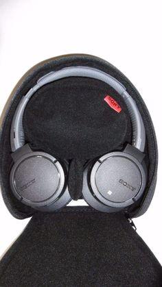 SONY HEADPHONES BLUETOOTH NOISE-CANCELLING BLUETOOTH HEADPHONES 05 G1 #Sony