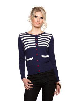 Navy angora cardigan sweater $39   wwww.ustrendy.com