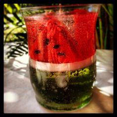 Gel Candle Juicy Watermelon Gel Candle by GelbyDesignCandles