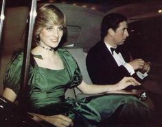October 26, 1982: Prince Charles & Princess Diana attend a special concert given for them as a wedding gift by Russian cellist Mstislav Rostropovich, a friend of Prince Charles, at the Barbican Arts Centre, London.