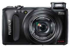 Fujifilm FinePix F505 16 MP CMOS Sensor and 15x Optical Zoom Digital Camera with 4 GB Class 10 SD Memory Card  (Black)